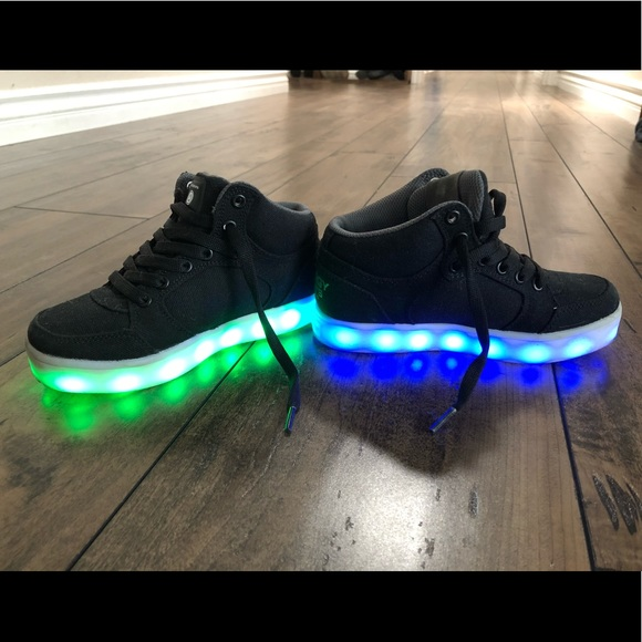skechers shoes with lights